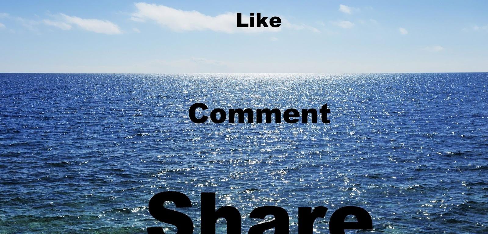 Facebook Like share